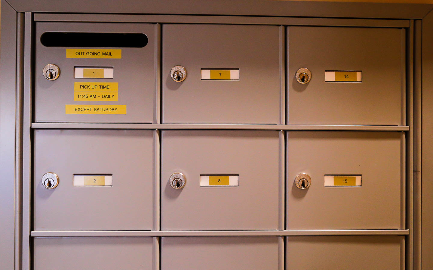 physical mailboxes for business address forwards